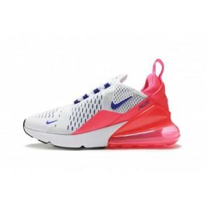 "Femme Nike Air Max 270 ""Ultramarine"" Blanche Rouge Soldes"