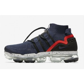 Nike Air VaporMax Utility Homme Marine Rouge Soldes