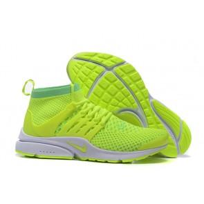 Acheter Chaussures Nike Air Presto High Ultra Flyknit Homme Verte