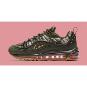 """Boutique Femme Nike Air Max 98 """"Floral Camo"""" Sequoia Noir"""