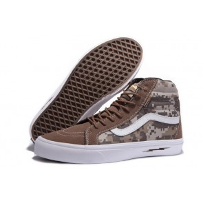 Acheter Chaussures Vans Syndicate Sk8 Hi Camo Blanche