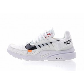 Boutique Homme Off-White x Nike Air Presto Blanche Noir