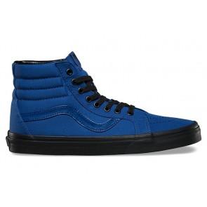 Vans SK8 Hi Reissue Pas Cher, Chaussures Bleu Noir