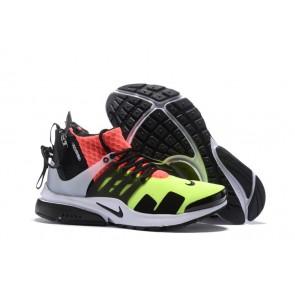 Homme ACRONYM x Nike Air Presto Mid Chaussures Verte Noir Soldes