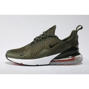 Acheter Nike Air Max 270 Flyknit Verte Noir