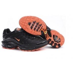 Chaussures Nike Air Max TN Plus Homme Soldes - Noir Orange