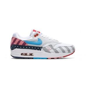 Homme Parra x Nike Air Max 1 Blanche Pure Platinum Rabais