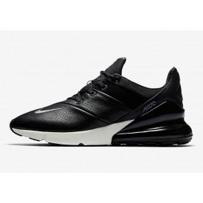 Homme Nike Air Max 270 Premium Noir Blanche Rabais