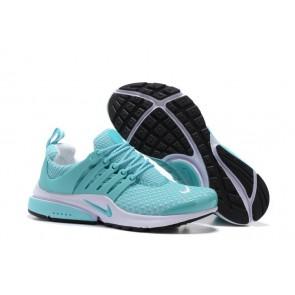 Nike Air Presto QS Femme Chaussures Bleu Blanche