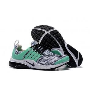 Homme Nike Air Presto Chaussures Noir Blanche Verte