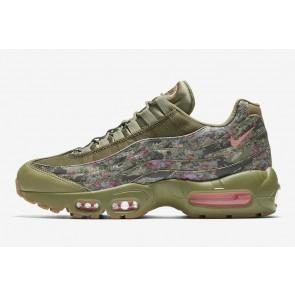 """Nike Air Max 95 Femme """"Floral Camo"""" Olive Verte Rose En ligne"""