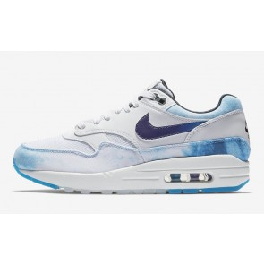 Homme Nike Air Max 1 N7 Acid Wash Lifestyle Blanche Pourpre Rabais