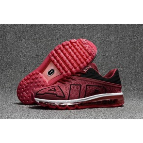 Boutique Chaussures Homme Nike Air Max Flair 2017 Wine Rouge