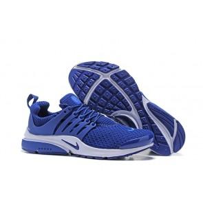 Boutique Chaussures Homme Nike Air Presto QS Bleu Blanche