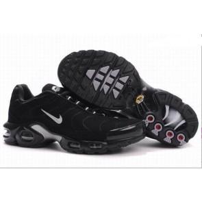 Nike Air Max TN Plus Chaussures Noir Blanche, Chaussures Nike Air Max