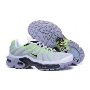Nike Air Max TN Plus Blanche Verte Pas Cher, Chaussures Femme