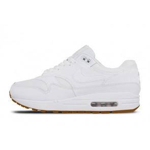 Homme Nike Air Max 1 Blanche Rabais