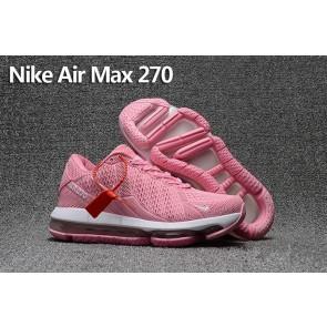 Acheter Femme Nike Air Max 270 Trainers KPU TPU Rose Blanche