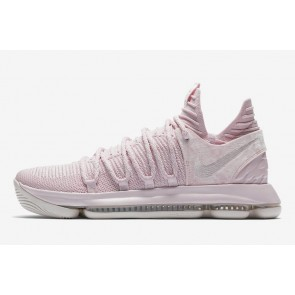 """Boutique Nike KD 10 """"Aunt Pearl"""" Homme Rose Blanche"""