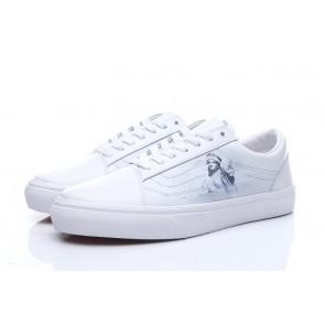 Chaussures Vans Old Skool Blanche Pas Cher