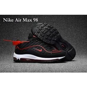 Supreme x Nike Air Max 98 KPU TPU Noir Rouge Rabais