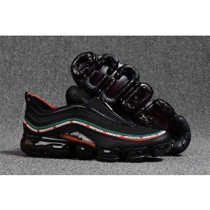 "Vapormax x Nike Air Max 97 KPU TPU ""Undefeated"" Homme Noir Rouge Soldes"