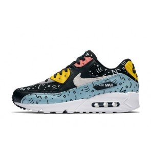 Boutique Nike Air Max 90 Premium Casual Ocean Bliss Homme Noir Rouge