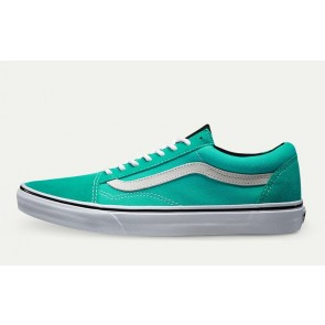 Chaussures Vans Old Skool Mint Blanche Pas Cher