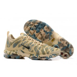 Chaussures Nike Air Max Plus TN Ultra Verte Rice Jaune Camouflage Pas Cher