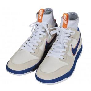 Boutique Medicom Nike SB Dunk Elite High Homme Blanche Bleu