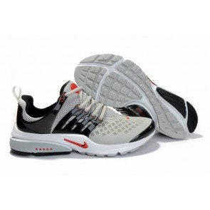 Acheter Chaussures Nike Air Presto Homme Grise Rouge