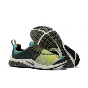 Homme Nike Air Presto QS Chaussures Verte Noir Soldes