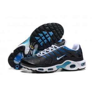 Chaussures Nike Air Max TN Plus Homme Noir Bleu Soldes