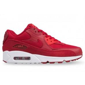 Acheter Nike Air Max 90 Premium Gym Rouge Blanche Homme