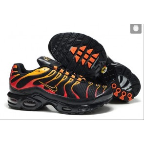 Nike Air Max TN Plus Homme Pas Cher - Chaussures Noir Rouge