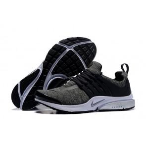 Chaussures Nike Air Presto QS Grise Noir Pas Cher, Nike Presto Homme