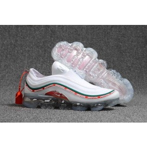 "Vapormax x Nike Air Max 97 KPU TPU ""Undefeated"" Homme Rouge Blanche Meilleur Prix"