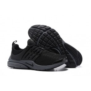 Homme Nike Air Presto Essential Chaussures Noir Grise Soldes