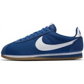 Boutique Nike Classic Cortez Nylon Homme Casual Bleu Blanche