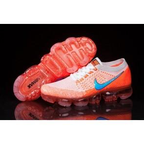 Homme Nike Air VaporMax Orange Blanche Pas Cher