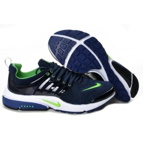 Chaussures Nike Air Presto Homme Pas Cher, Bleu Verte