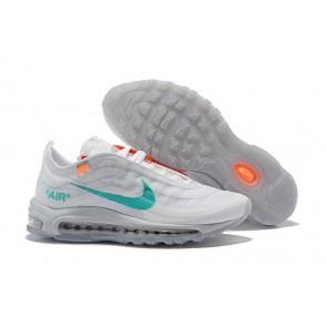 Homme Off-White x Nike Air Max 97 OG Grise Blanche En ligne