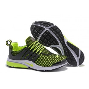 Chaussures Nike Air Presto QS Noir Verte Homme Moins Cher