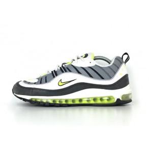 """Homme Nike Air Max 98 """"Neon"""" Cool Grise Noir En ligne"""