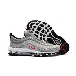 Homme Nike Air Max 97 KPU TPU Argent Blanche En ligne