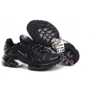 Nike Air Max TN Plus Homme Pas Cher - Chaussures Noir Blanche