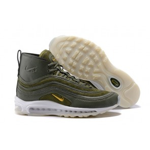 Homme Riccardo Tisci x Nike Air Max 97 Mid Boots Olive Verte Pas Cher