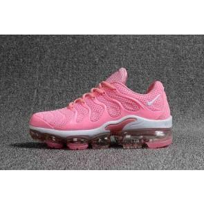 Nike Air VaporMax Plus KPU TPU Femme Rose Blanche En ligne