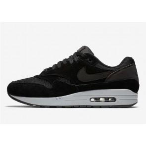 Homme Nike Air Max 1 Noir Pure Platinum Grise Noir Pas Cher