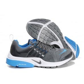 Chaussures Nike Air Presto Grise Bleu Pas Cher